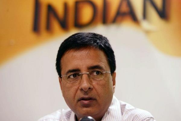 congress narendra modi randeep singh surjewala bhartiya janta party