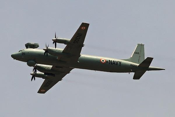 naval plane crashes in gujarat no casualty in accident