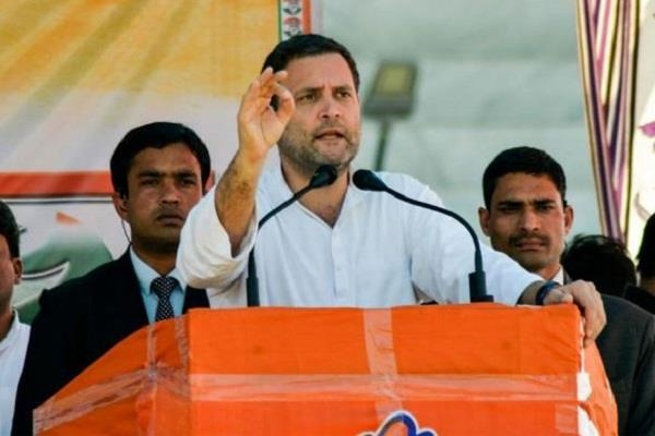 rahul attack pm modi will not be able to stand in front of me for 15 minutes