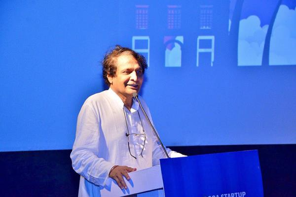 startups will be new engine of growth for goa suresh prabhu