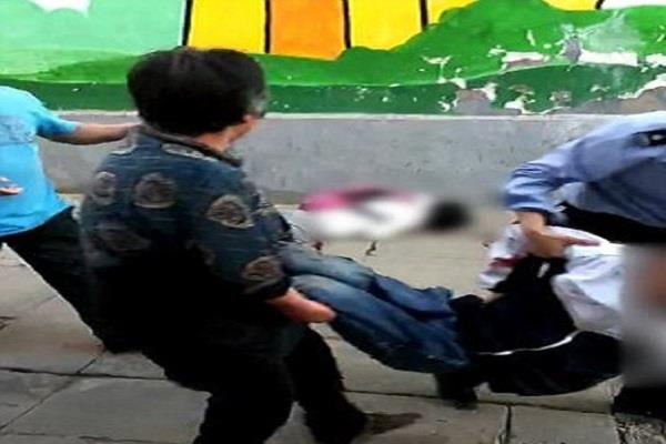 school children attack with knife in china