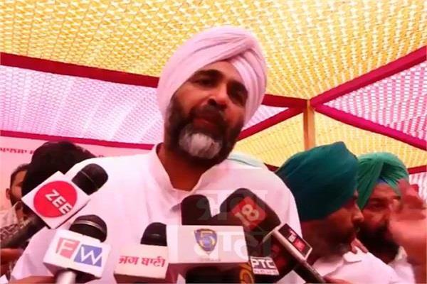 manpreet badal spoke on the attack on paramesh verma