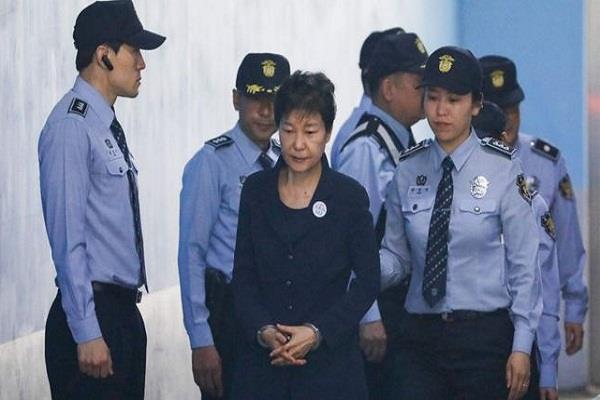 south korea s former president imprisoned for 24 years for corruption