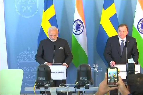 sweden s strongest allies in sweden make pm modi