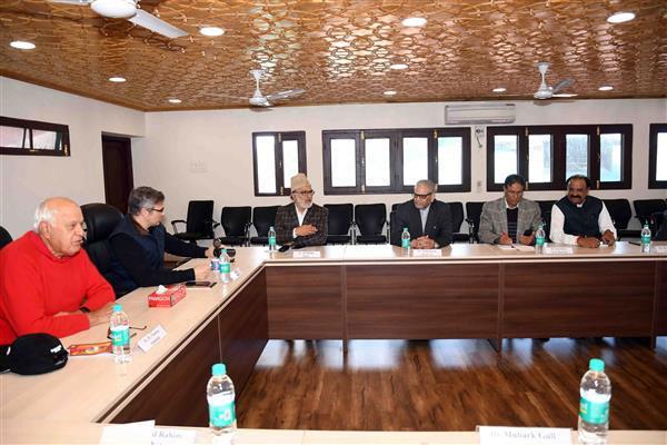 nc core group meetinh held at srinagar