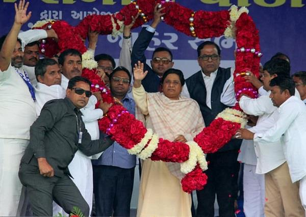 support of india shutdown mayawati s political complexity or concern for dalits