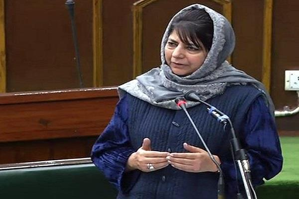 kathua kand cm mehbooba accepts bjp ministers resigns
