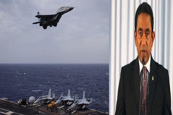 maldives rejects india s invitation to join defense exhibition