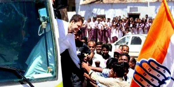 rahul gandhi may be in telangana congress bus trip