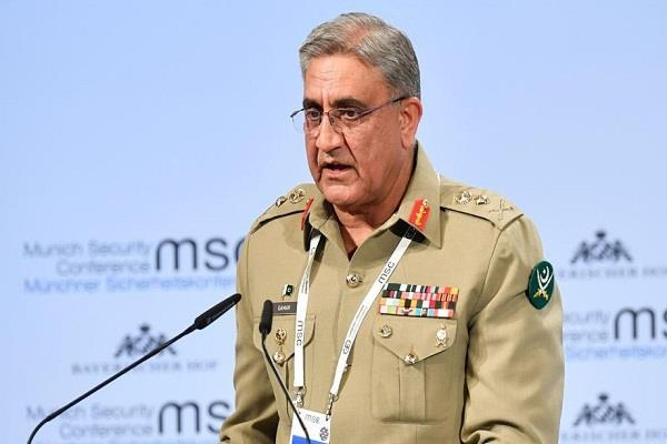 pak army chief advocates dialogue with india on kashmir