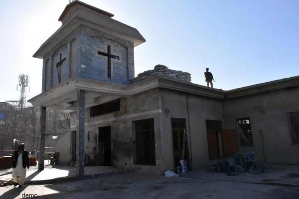 pakistan cathedral attack in quetta 2 killed
