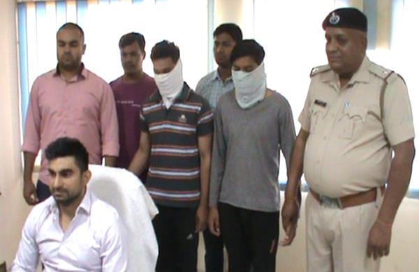 bsc students for vagabond got robbed car arrested