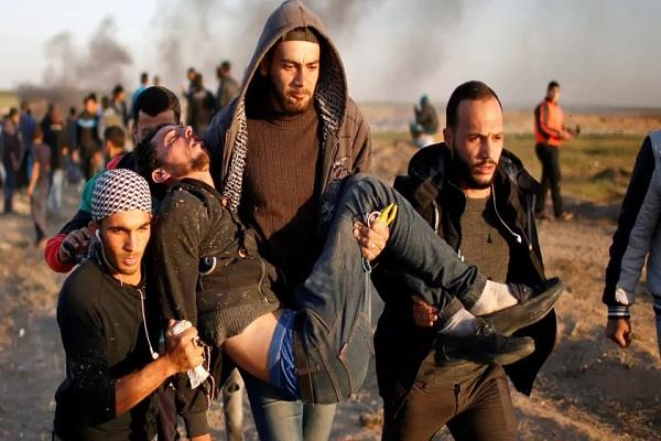 four palestinians killed in israeli army firing