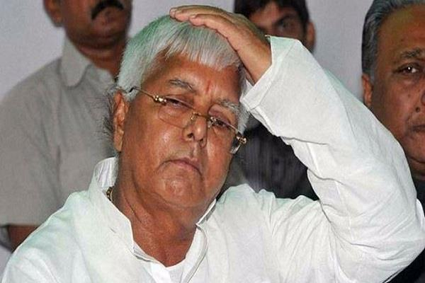 lalu s lanterns can be extinguished election commission issued notice