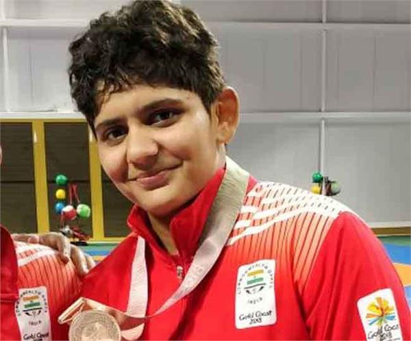 kiran won bronze medal in commonwealth games 2018