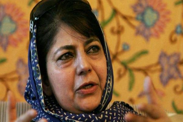 new law to bring rap from minor to be hanged mehbooba