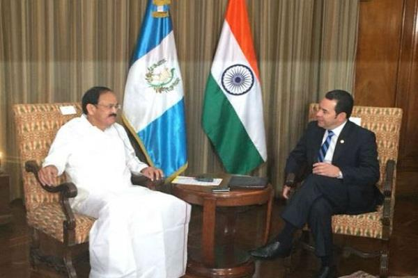 naidu meets president of guatemala discusses bilateral cooperation