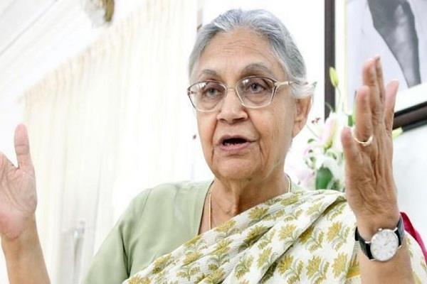 sheila dikshit will be the new chief of delhi congress