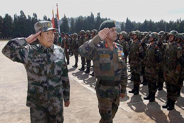 the meeting of indian and chinese army talk of reducing stress on the border