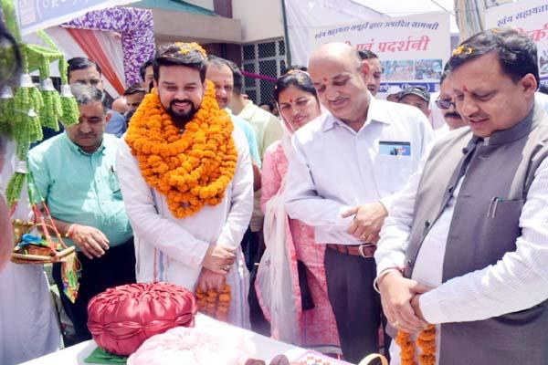products of self help groups will be reached to tourists  anurag