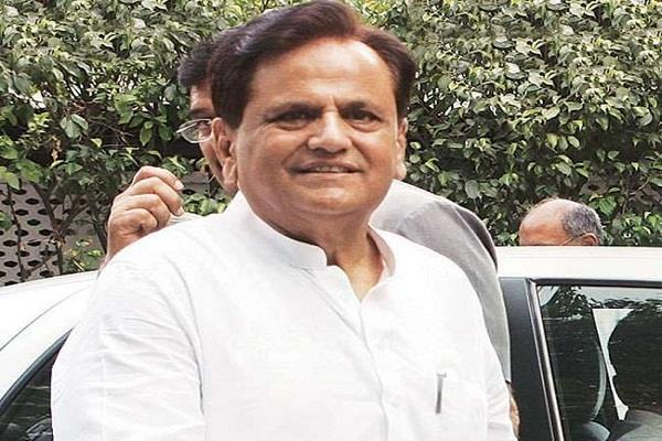 rahul gandhi is our candidate for the prime minister ahmed patel