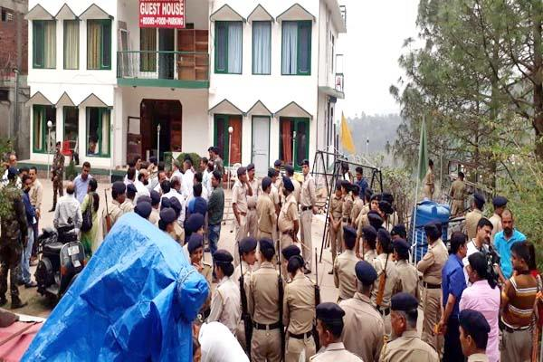 kasauli rafael  eight team searched the accused