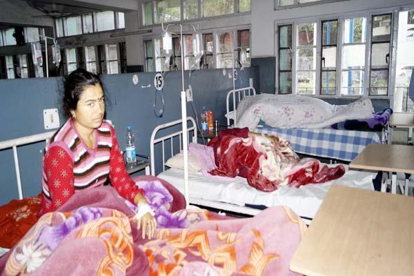 diarrhea spreads in dharamsala 24 people reach hospital