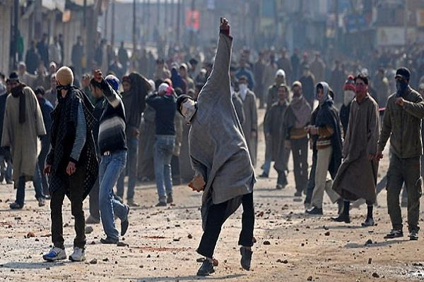 stoning stone was also destroyed by the left wing tourism industry of kashmir