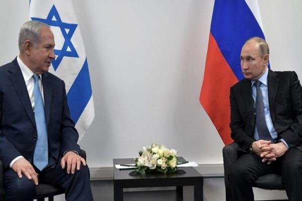 netanyahu and putin will discuss regional issues on wednesday
