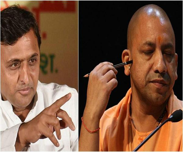 political storm raises after death in agra akhilesh talks again yogi attacks