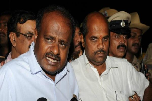 kumaraswamy will meet rahul and sonia in delhi today