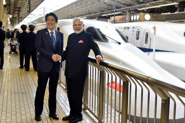 modi s bullet train costs will increase japan worried