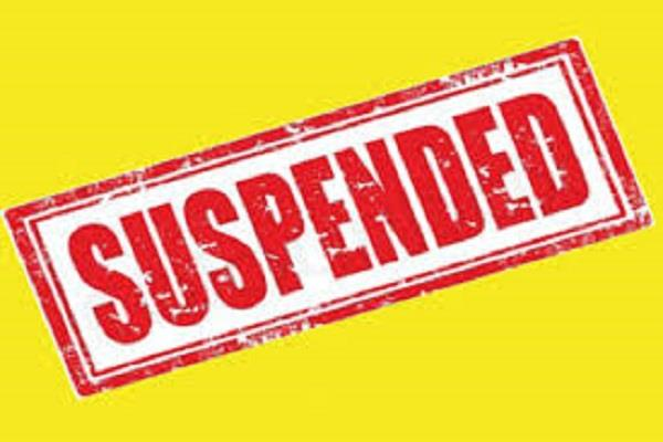 order to suspend drunken lady doctor