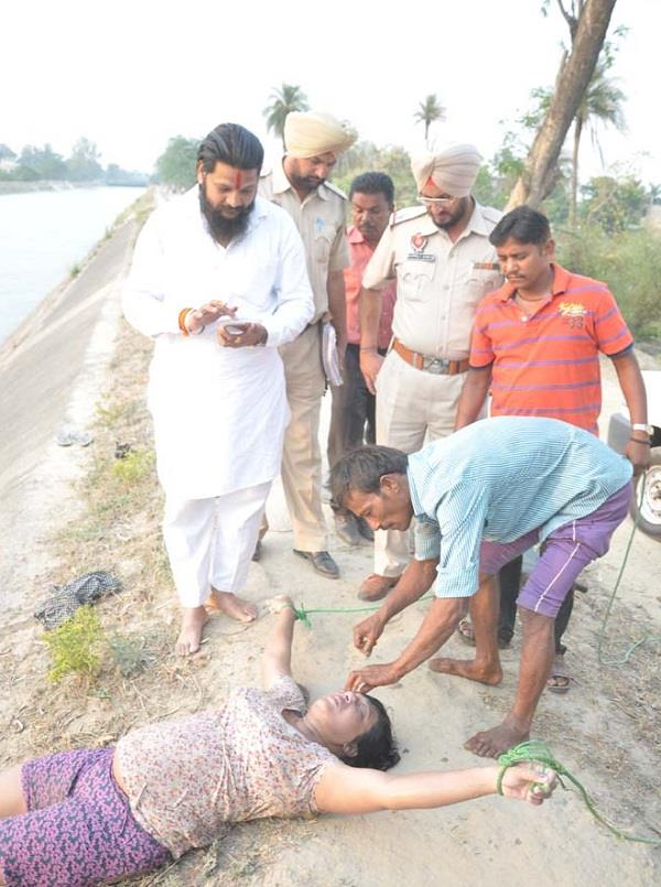 woman dead body found in bhakra canal