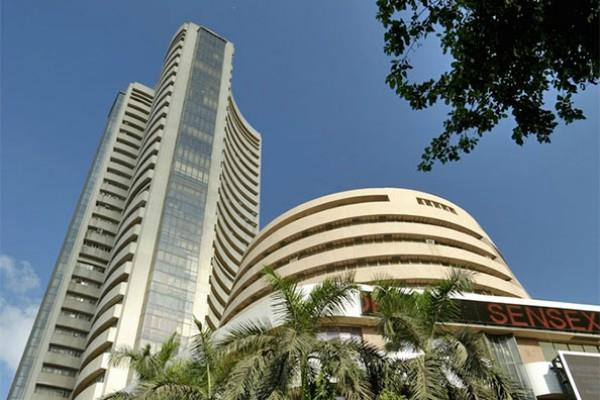 sensex up 94 points and nifty open at around 10600