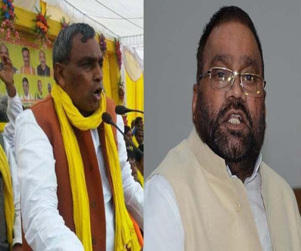 up cabinet minister rajbhar told maurya jinnah s relative
