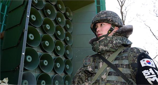 north south korea started to remove loudspeakers at border