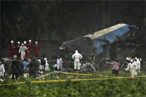 cuba 110 people die in plane crash three situation delicate