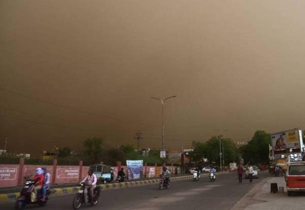 western disturbance reactive dusty storms and rain