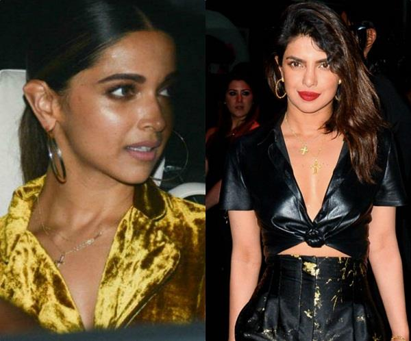 deepika padukone and priyanka chopra at met gala 2018 after party