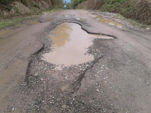 damaged roads