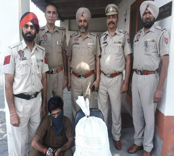 smugller arrested
