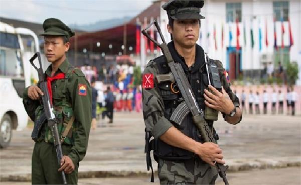 myanmar army and rebels clash 19 killed in army