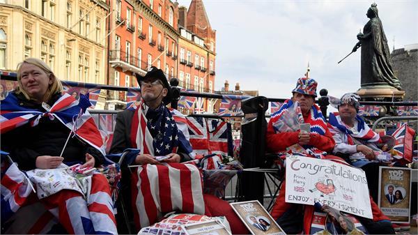 britain royal wedding preparations underway