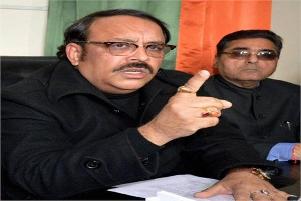 bjp leader shwet malik declares state body