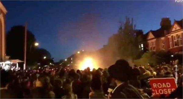 30 injured in explosion at jewish celebration in london