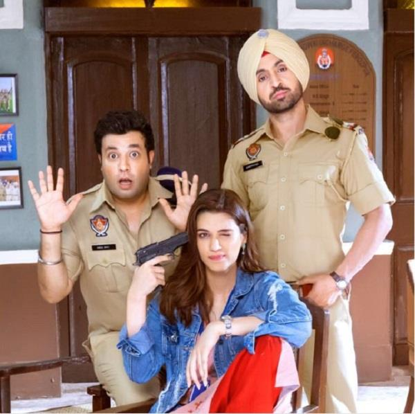 diljit and kriti movie first poster