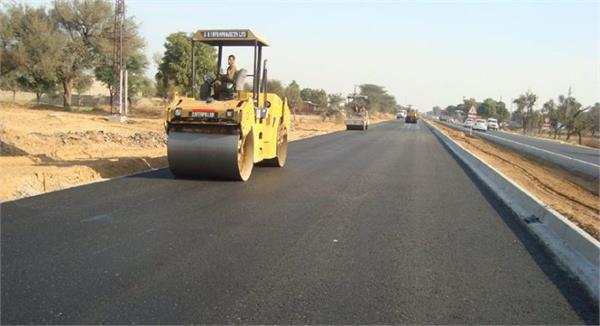 on road project of punjab center launches scissors worth 36 crores