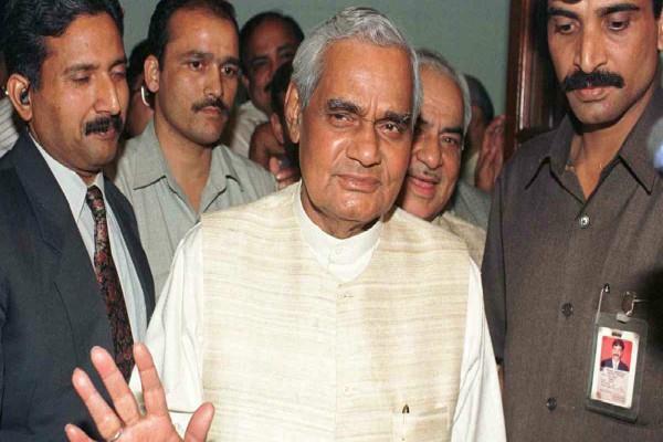 yeddyurappa s resign remembered to atal bihari vajpayee