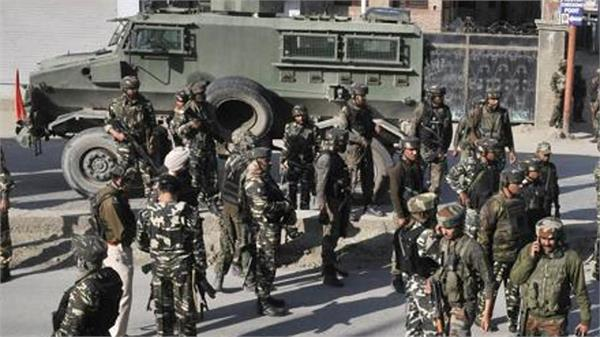 militant atttack on army in kashmir